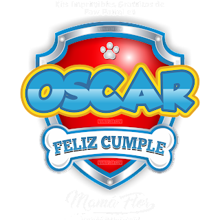 Logo de Paw Patrol: OSCAR