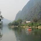 Vang Vieng - Halbtages-Kajak-Tour
