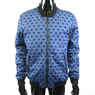 Dolce & Gabbana NEW Dotted Bomber Jacket sz. 50