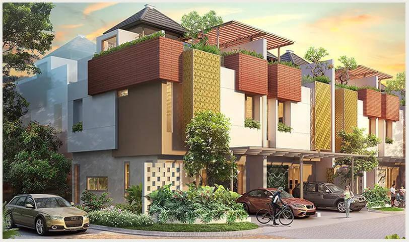 Rumah Heritage Residence Puri 11 Tipe 7 Sudut