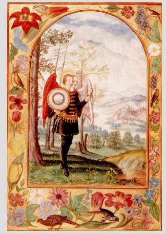 Hermaphrodite With Egg From Splendor Solis, Hermetic Emblems From Manuscripts 1
