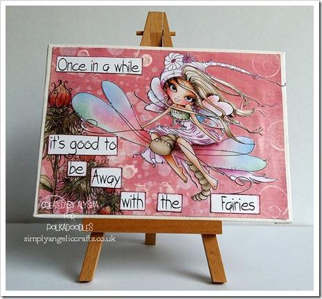 Away with the fairies canvas octavia cd