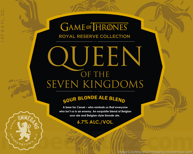Ommegang Adding Queen Of The Seven Kingdoms To Game Of Thrones Royal Reserve Collection