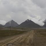 La Jetim Bel Pass (4000 m) dans le Terskej Alatau (10 juillet 2006). Photo : J.-M. Gayman
