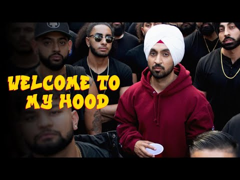 Welcome To My Hood Lyrics Diljit Dosanjh Randiale Wala