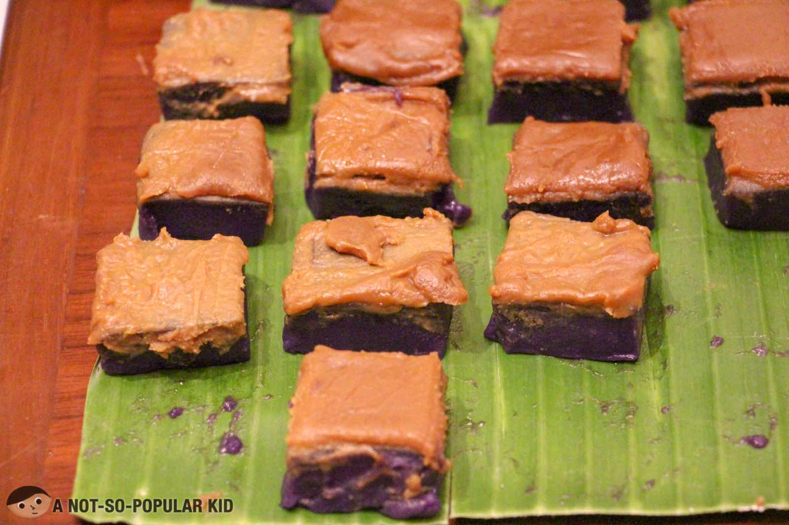 Ube Latik Dessert in S Kitchen