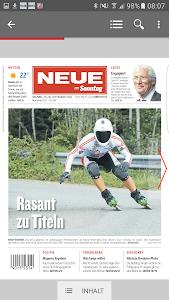 NEUE Vorarlberger Tageszeitung screenshot 1