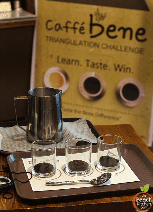 Caffé Bene. Triangulation Challenge. The Bene Difference.