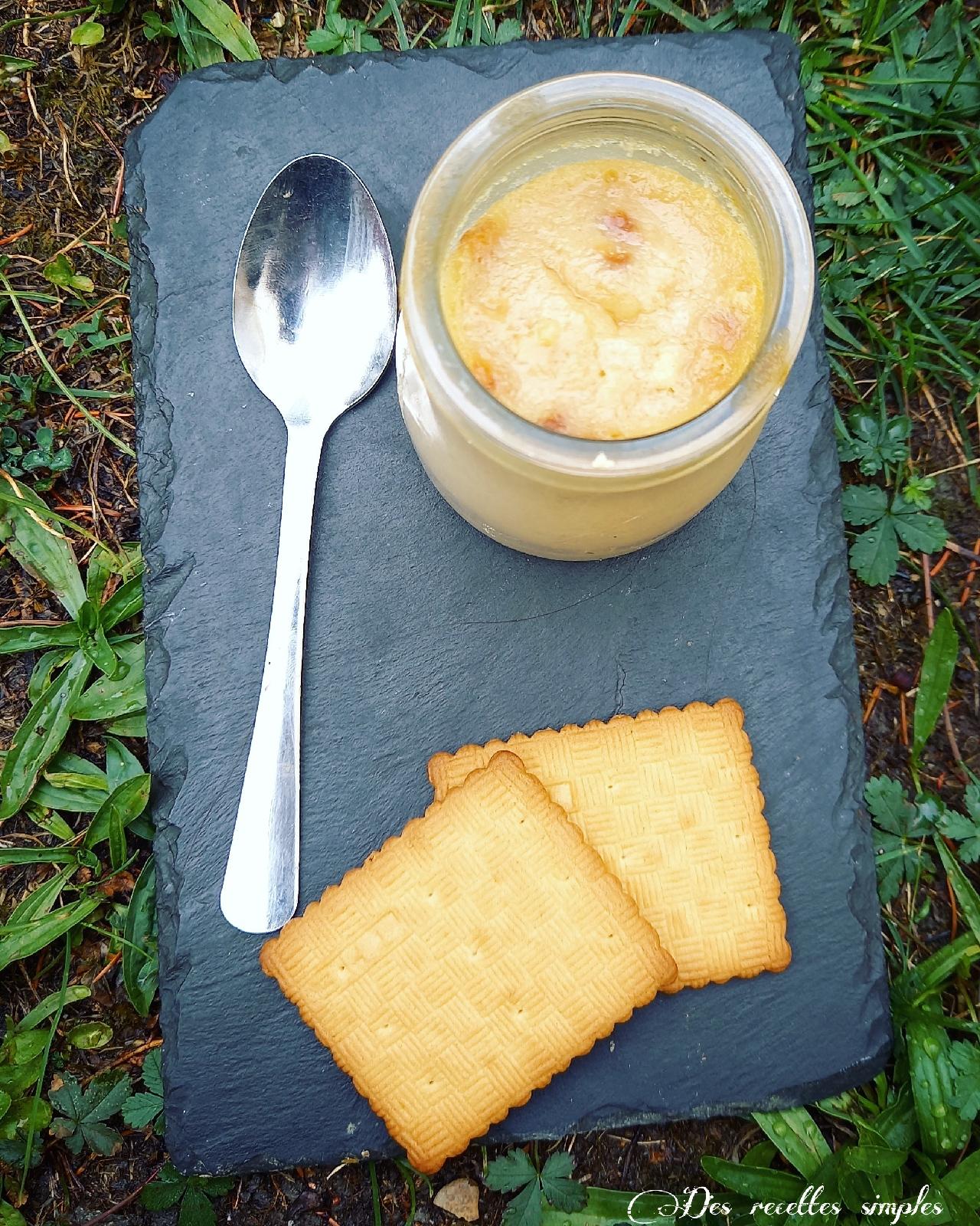 Crème biscuiThé