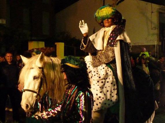 Cabalgata de Reyes 2016 en Galapagar