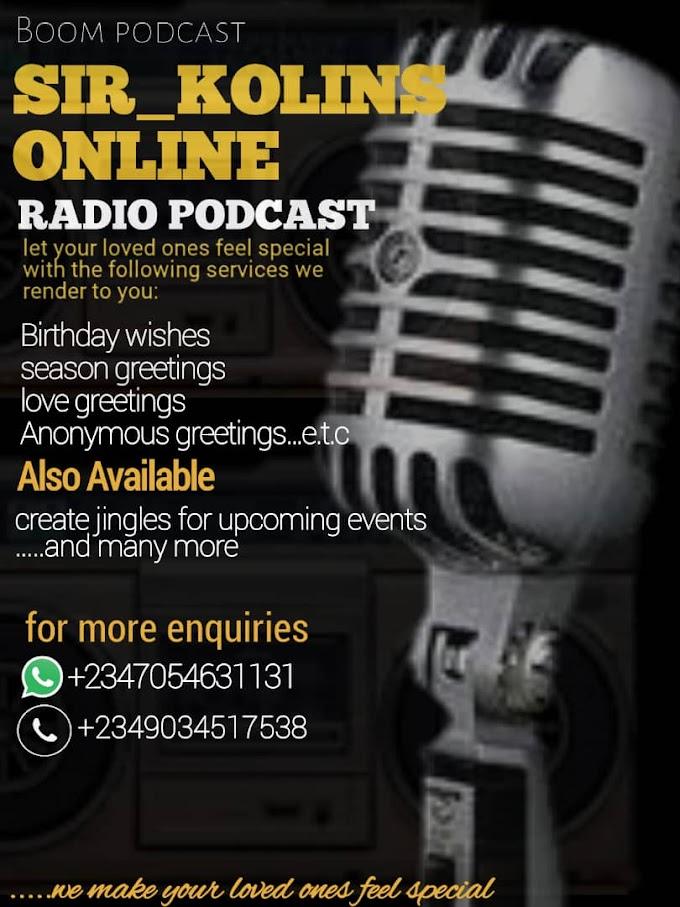 sir_kolins online radio podcast