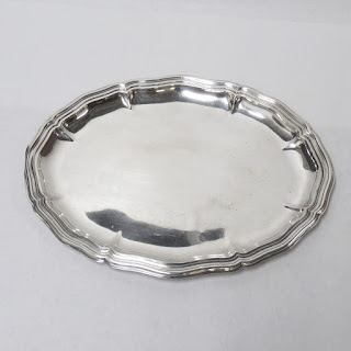 German 835 Silver Tray