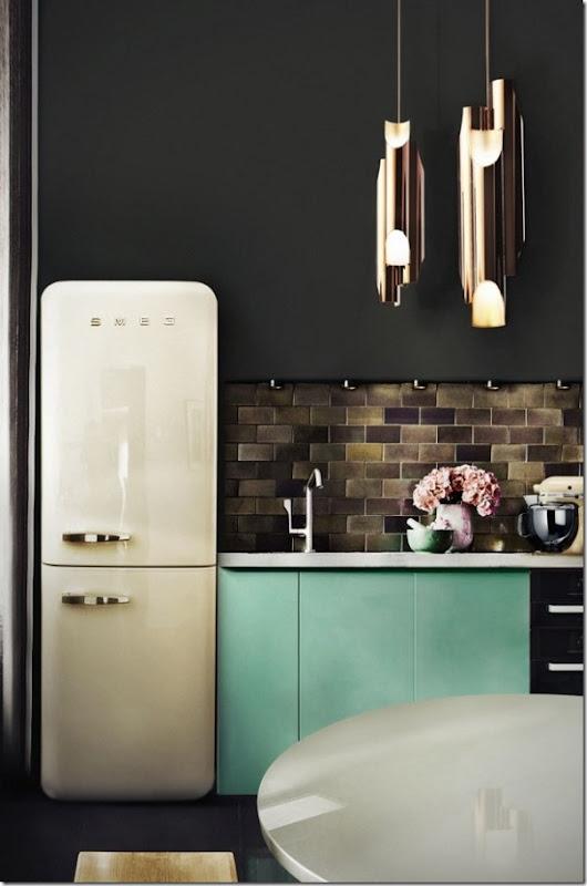case-interni-cucina-colori-turchese-nero-1