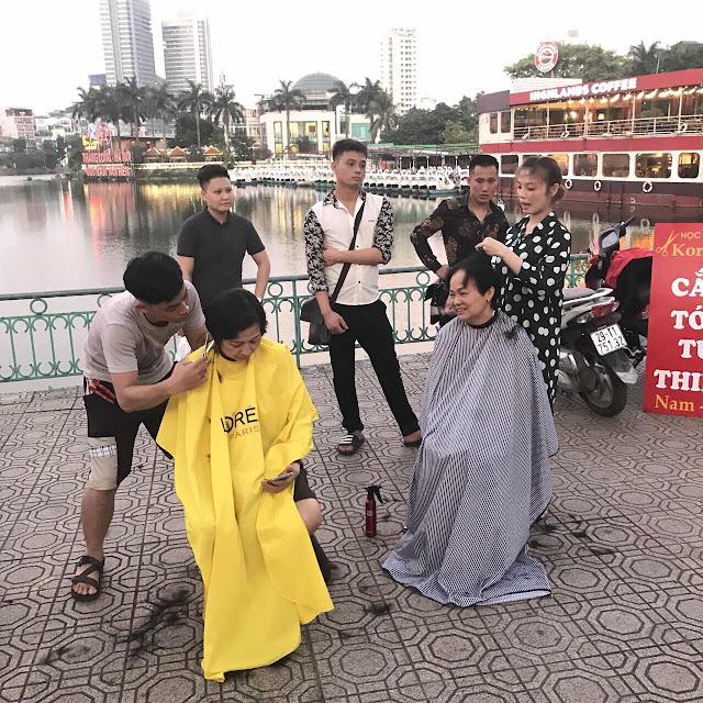 Dạy học cắt tóc thật 100% ở đâu tại Hà Nội?