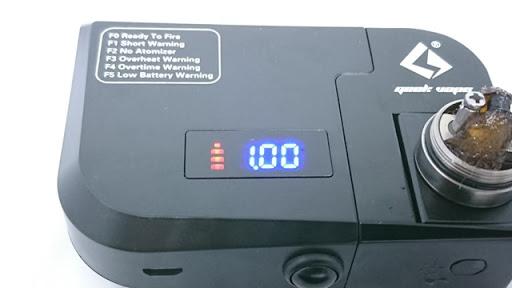 DSC 5368 thumb%255B2%255D - 【MOD】「GEEKVAPE 521 Tab Pro」(ギークベイプ521タブプロ)レビュー。521 TabがModになっちゃった!?超高速ドライバーン&オームメーターの決定版【電子タバコ/ビルド/VAPE】