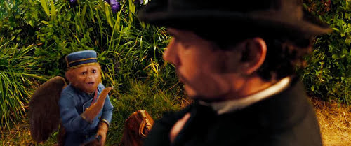 Screen Shot Of Hollywood Movie Oz the Great and Powerful (2013) Download And Watch Online Free at Alldownloads4u.Com
