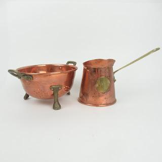 Copper Petit Colander & Saucier
