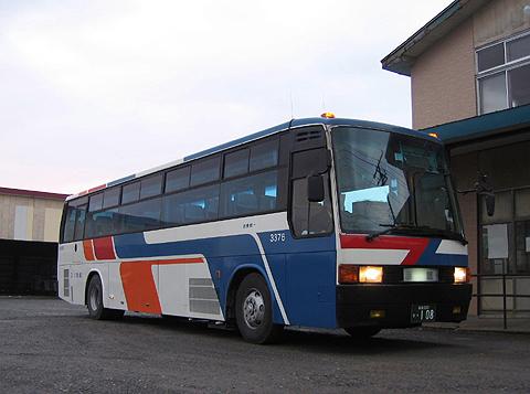 函館バス「函館江差線」 T3376