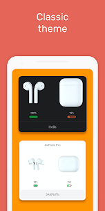 MaterialPods PRO MOD APK (AirPod battery app) [Pro Features Unlocked] 1