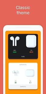 MaterialPods PRO MOD APK (AirPod battery app) [Pro Features Unlocked] 3.70 1