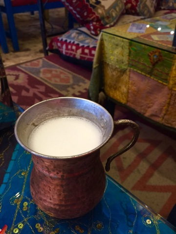 Ayran Turkish yoghurt drink