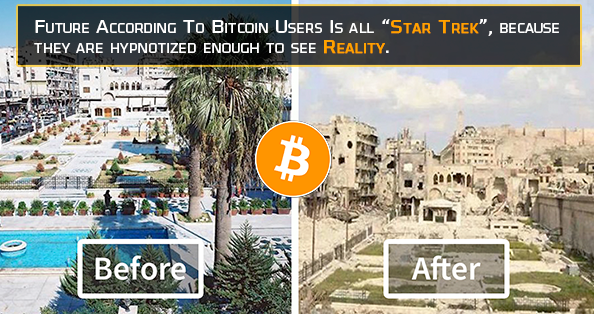 Before and After Bitcoin during war crisis