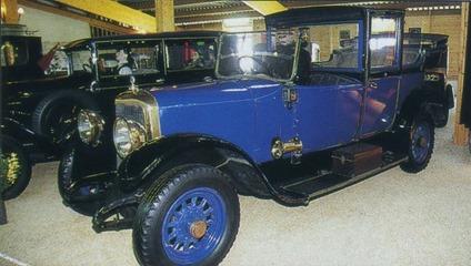 Panhard-Levassor X36 1922