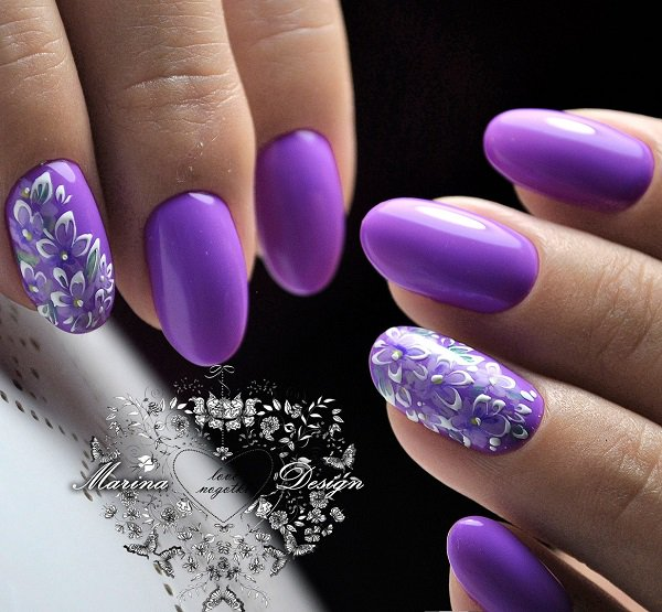 60 Trendy Ideas For Purple Nail Art Designs You Must Try