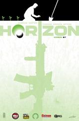Actualización 02/05/218: Darkvid GinFizz para la múltiple alianza La Mansión del CRG, Prix Comics, Gisicom, Outsiders y How To Arsenio Lupin nos traen el numero 7 de Horizon. Comienza un nuevo arco, y con él, empiezan a revelarse grandes secretos..