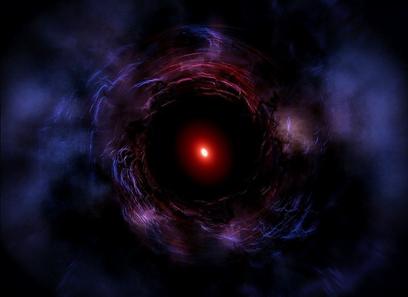 ilustração da galáxia ZF-COSMOS-20115