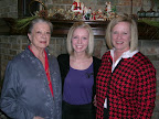 Three generations of Thetas: 50-year-Theta Julia Murchison, her granddaughter Emilie and daughter Leslie Baxter.