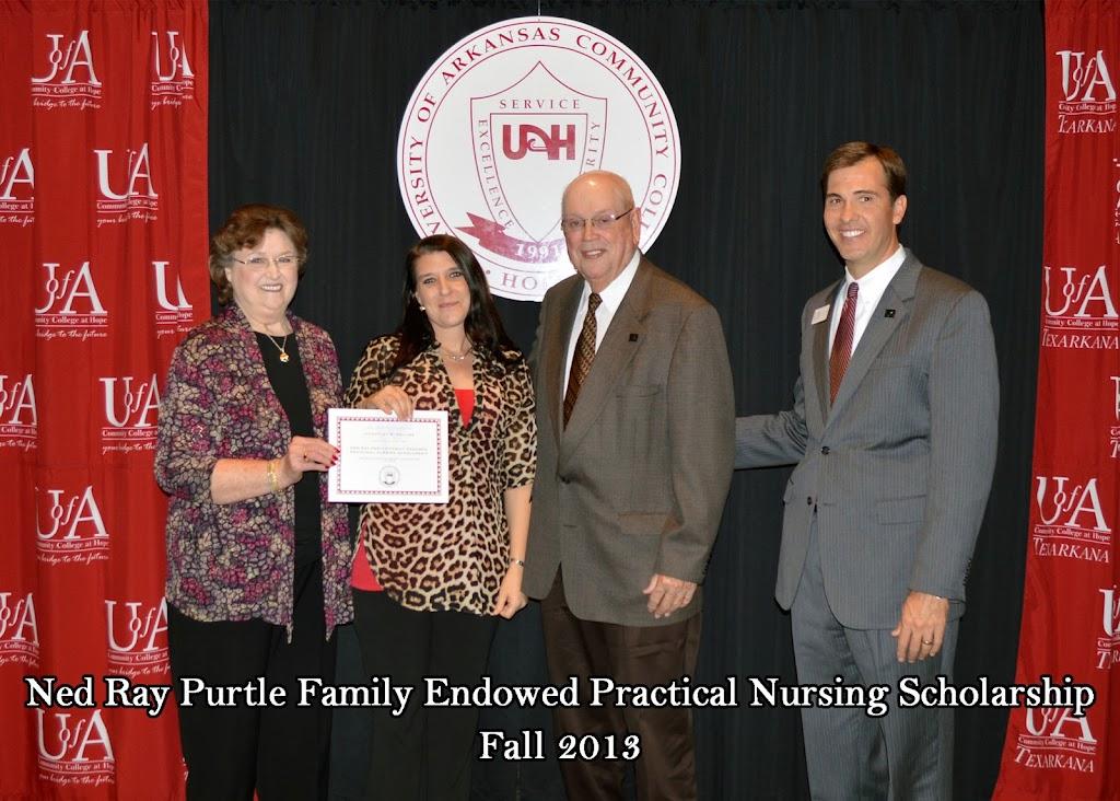 Scholarship Ceremony Fall 2013 - Purtle%2BNursing%2Bscholarship%2B4.jpg