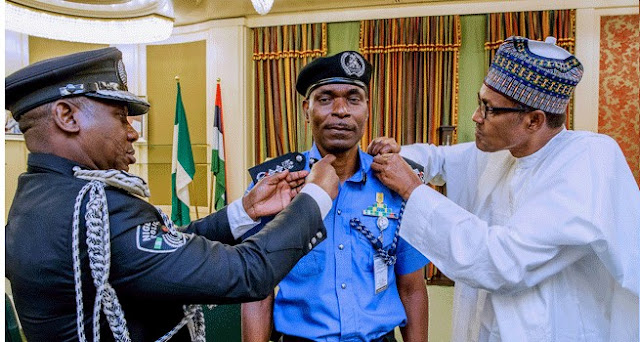 President Muhammadu Buhari has named Mohammed Adamu as acting inspector-general of police (IGP). Buhari announced Adamu's appointment at a ceremony in Aso Rock