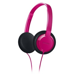 philips pink headphones