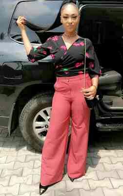 Rosaline Meurer shades Nollywood Actress Tonto Dikeh