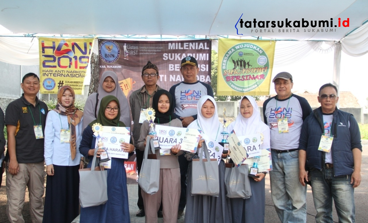 BNNK Sukabumi : Angka Penyalahgunaan Narkoba di Kalangan Milenial Meningkat