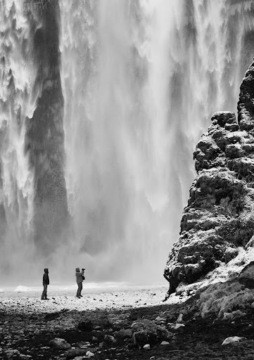 Skogafoss Wall of Water