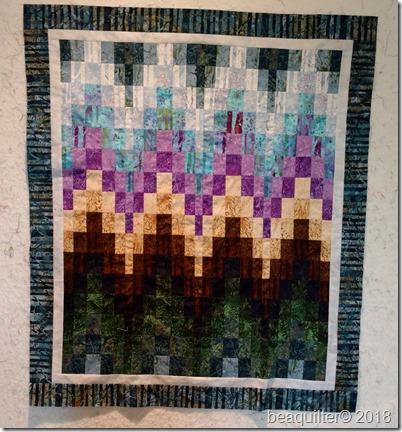 bargello quilt batik