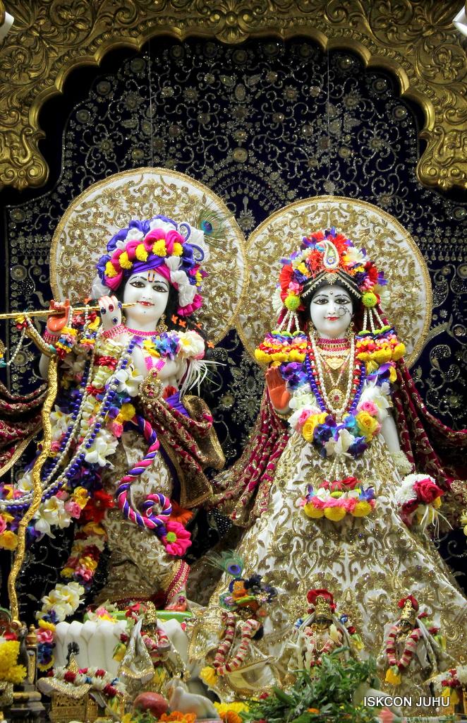 ISKCON Juhu Sringar Deity Darshan on 24th Oct 2016 (11)