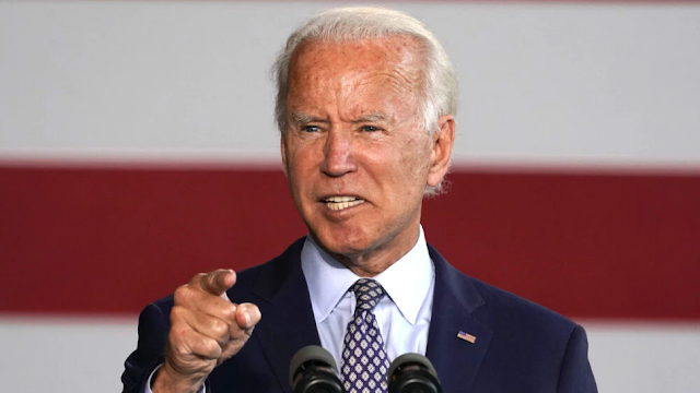 Biden, While Promoting 'Unity,' Insults Trump Supporters As His Rally Gets Drowned Out: 'Those Chumps'