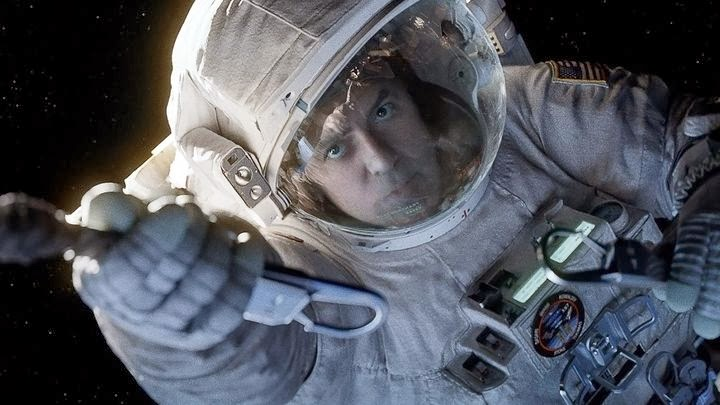 George Clooney in the Movie Gravity