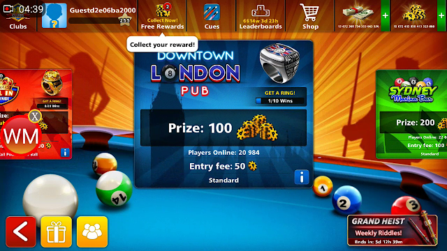 8 Ball Pool Mega Mod Menu V.4.5.0 Latest – Download Now!
