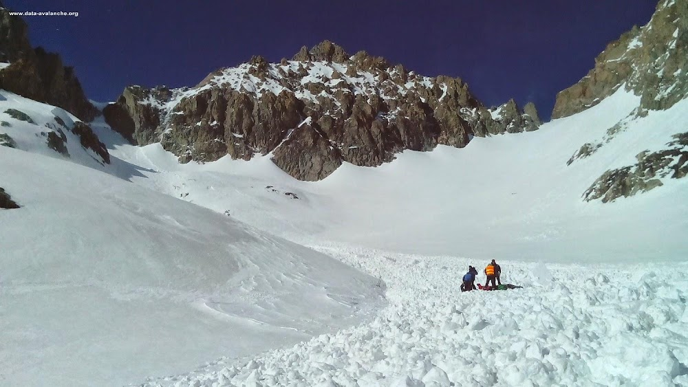 Avalanche Ecrins, secteur Col Emile Pic - Photo 1