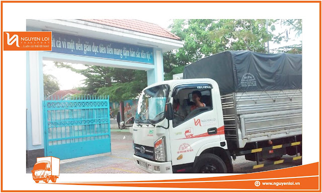 Xe tải Nguyên Lợi tại quận 8