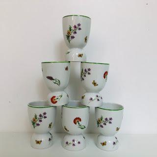 Tiffany & Co. Egg Cup Set