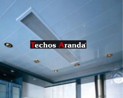 Precio anticrisis techos de aluminio para baños Madrid