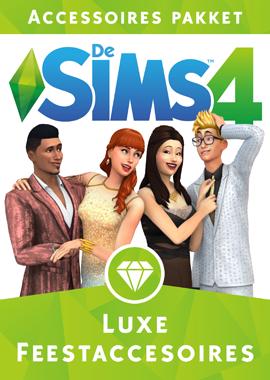 De Sims 4 Luxe Feestaccessoires boxart