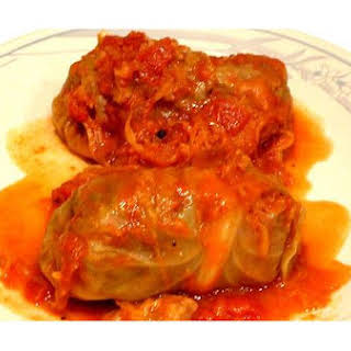 Hungarian Cabbage Rolls.
