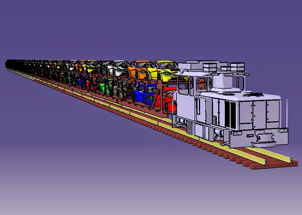 Porta-cotxes FGC Auto cargo.  Prova%2Blongitud%2Bautocargo