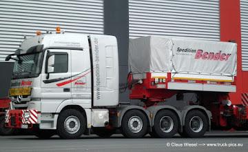 Photo: 4165: BENDER - der Schwerlast Profi aus Freudenberg! -------> www.truck-pics.eu